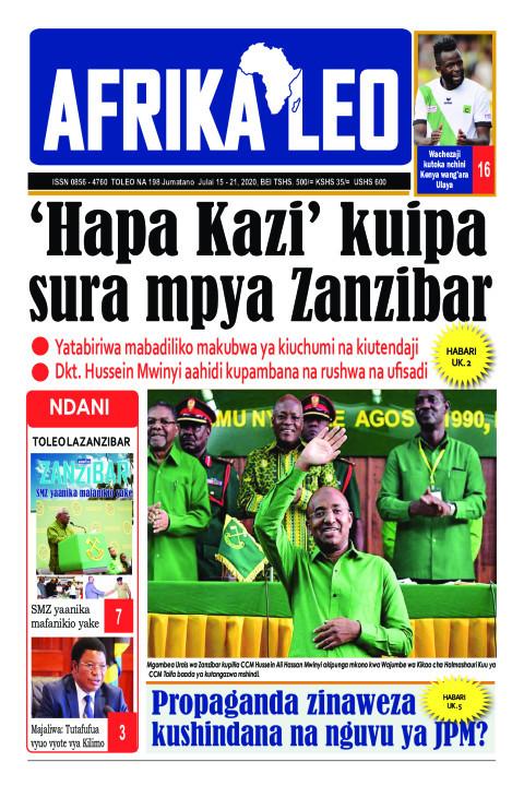 'Hapa Kazi' kuipa sura mpya Zanzibar | AFRIKA LEO