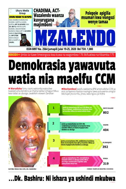 DEMOKRASIA YAWAVUTA WATIA NIA MAELFU CCM | Mzalendo