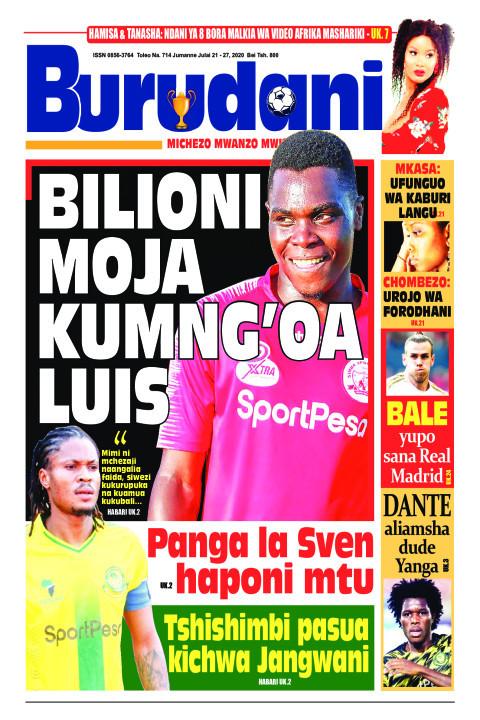 BILIONI MOJA KUMNG'OALUIS | Burudani