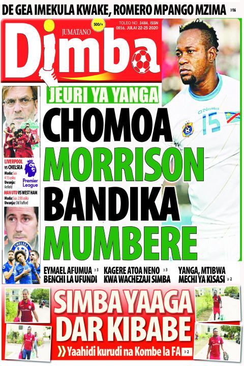 CHOMOA MORRISON ORRISON BANDIKA MUMBERE | DIMBA
