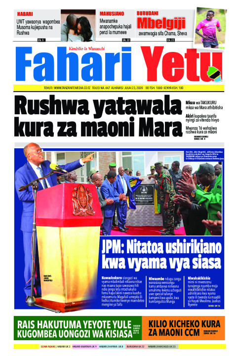 Rushwa yatawala kura za maoni Mara | Fahari Yetu