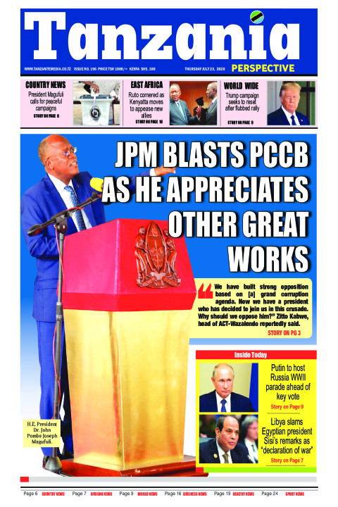 JPM BLASTS PCCB AS HE APPRECIATES OTHER GREAT WORKS | Tanzania Perspective