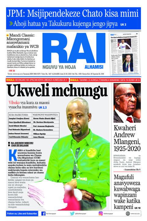 Ukweli Mchungu   Rai