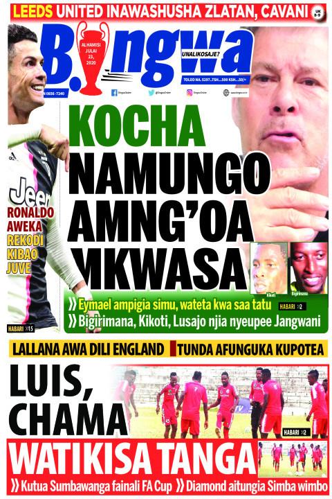 KOCHA NAMUNGO AMNG'OA MKWASA | Bingwa