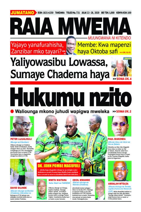 Hukumu nzito | Raia Mwema