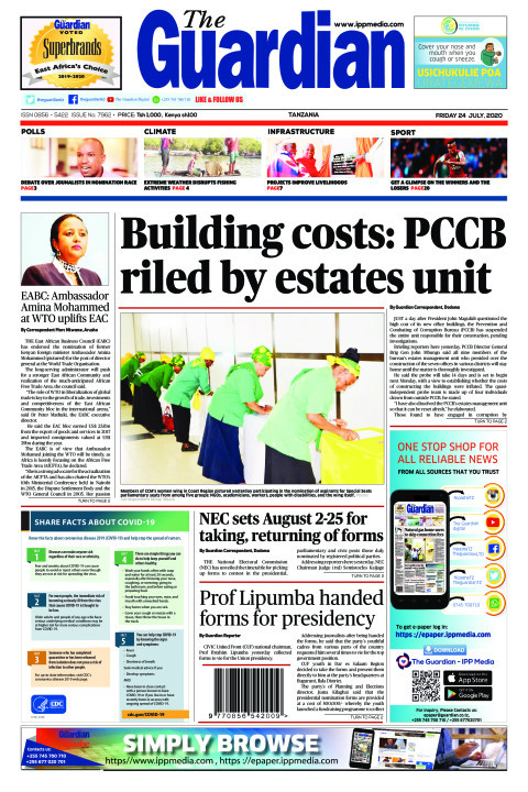Building costs: PCCB riled by estates unit | The Guardian