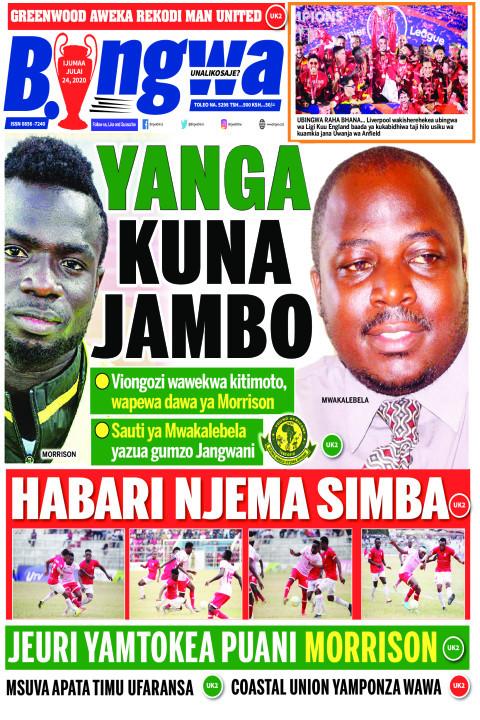 YANGA KUNA JAMBO | Bingwa