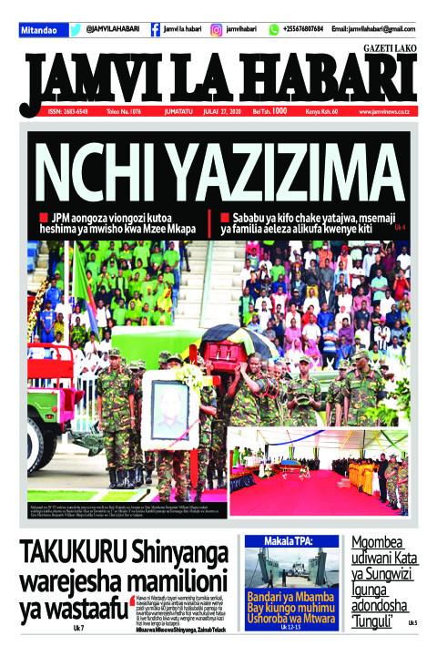 NCHI YAZIZIMA | Jamvi La Habari