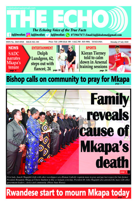 Family reveals cause of  Mkapa's death | The ECHO