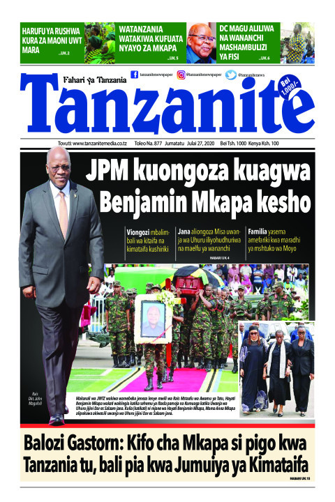 JPM kuongoza kuagwa Benjamin Mkapa kesho | Tanzanite
