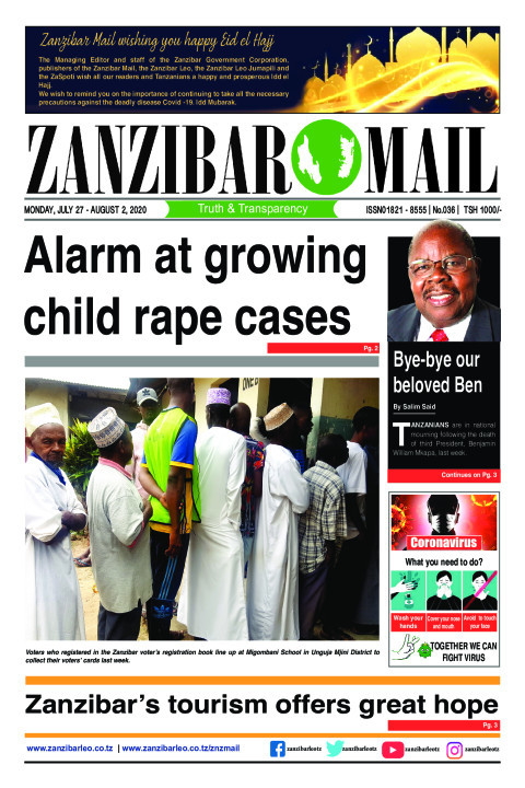 Alarm at growing child rape cases | ZANZIBAR MAIL