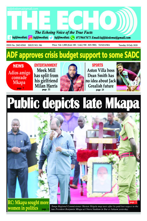 Public depicts late Mkapa | The ECHO
