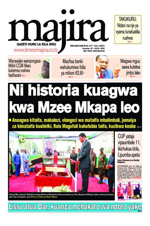 Ni historia kuagwa kwa Mzee Mkapa leo | MAJIRA