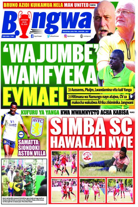 'WAJUMBE' WAMFYEKA EYMAEL | Bingwa