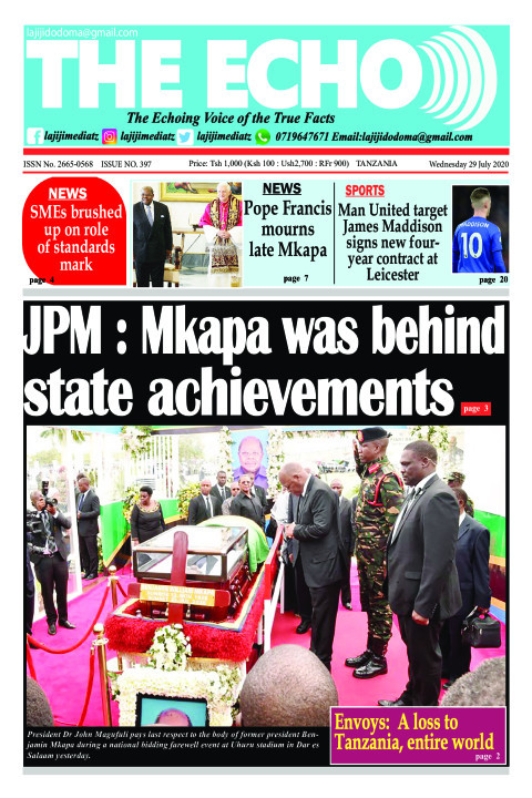 JPM : Mkapa was behind