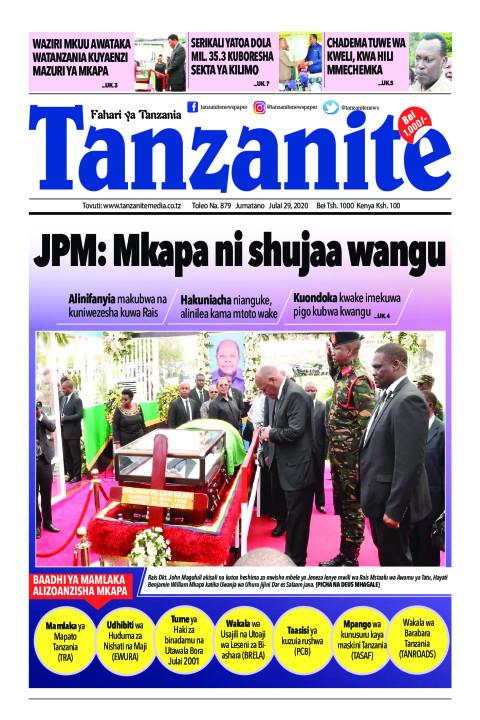 JPM: Mkapa ni shujaa wangu | Tanzanite