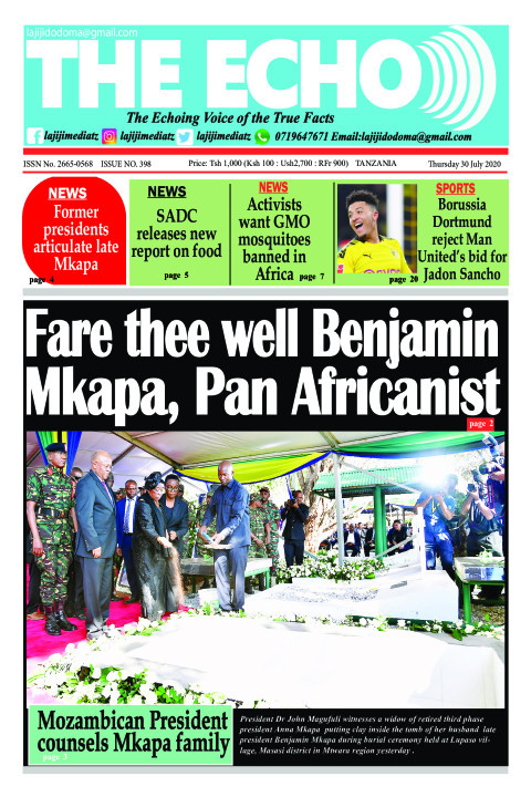 Fare thee well Benjamin