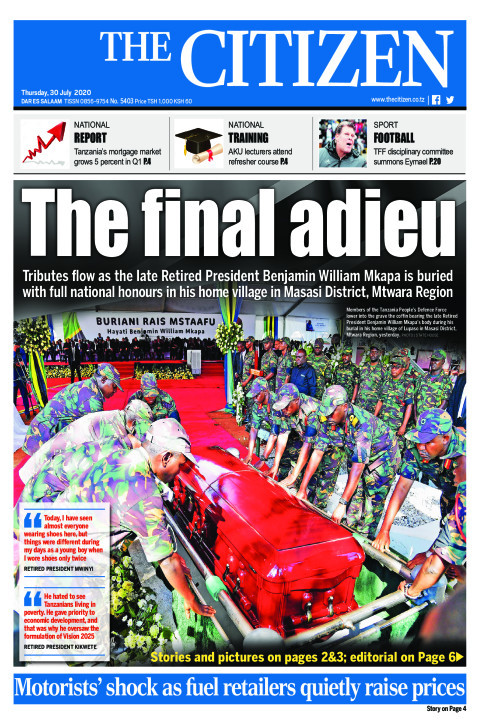 THE FINAL ADIEU