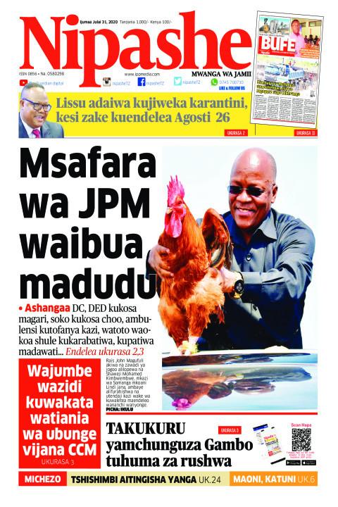 Msafara wa JPM waibua madudu | Nipashe