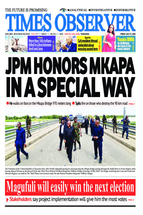 JPM HONORS MKAPA IN A SPECIAL WAY | Times Observer
