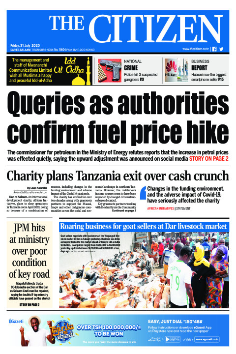 QUERIES AS AUTHORITIES CONFIRM FUEL PRICE HIKE