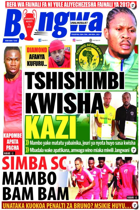 TSHISHIMBI KWISHA KAZI | Bingwa