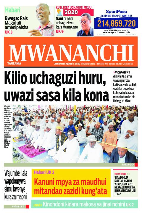 KILIO UCHAGUZI HURU,UWAZI SASA KILA KONA  | Mwananchi