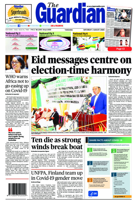 Eid messages centre on election-time harmony | The Guardian