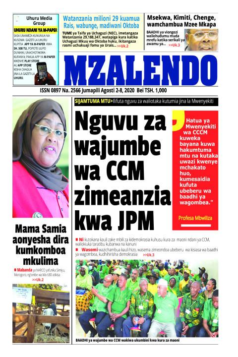 Nguvu za wa wajumbe CCM zimeanzia kwa JPM | Mzalendo