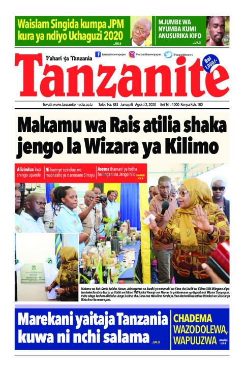 Makamu wa Rais atilia shaka jengo la Wizara ya Kilimo | Tanzanite