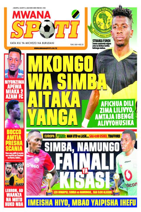 MKONGO WA SIMBA AITAKA YANGA  | Mwanaspoti