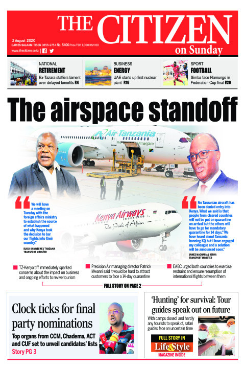 THE AIRSPPACE STANDOFF