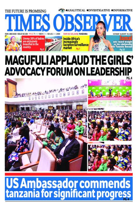 MAGUFULI APPLAUD THE GIRLS' ADVOCACY FORUM ON LEADERSHIP  | Times Observer