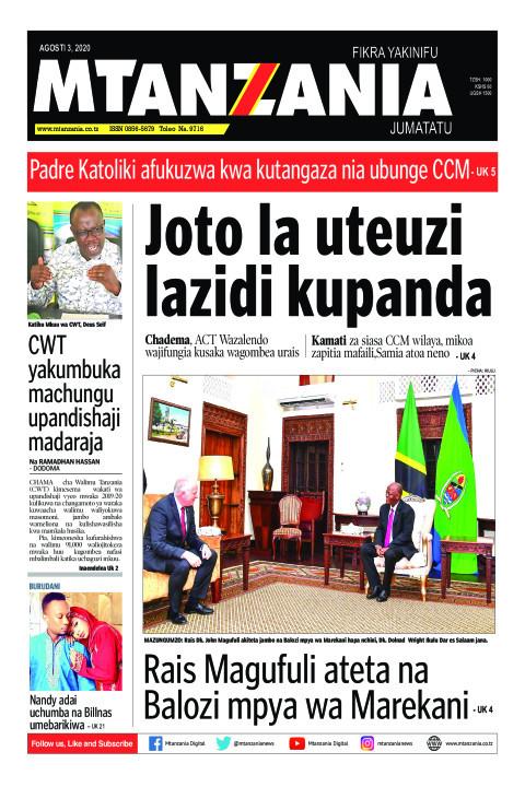 Joto la uteuzi lazidi kupanda | Mtanzania
