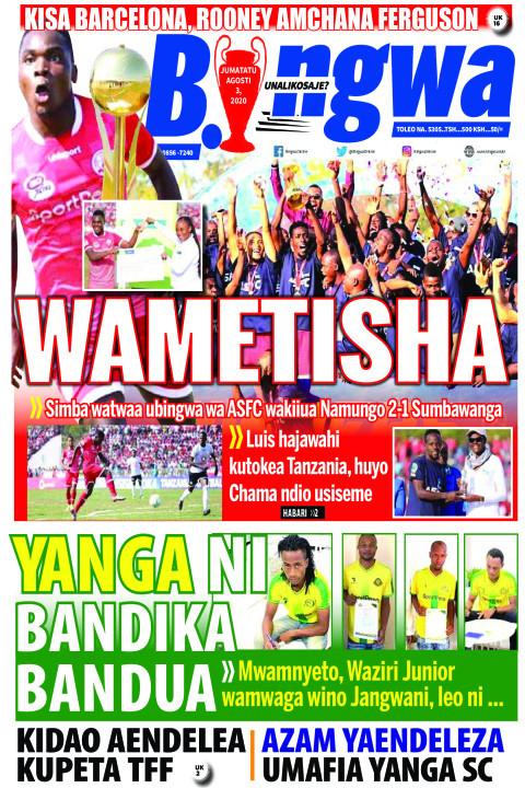 WAMETISHA | Bingwa