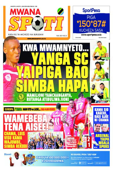 KWA MWANYETO.. YANGA SC YAIPIGA BAO SIMBA HAPA  | Mwanaspoti