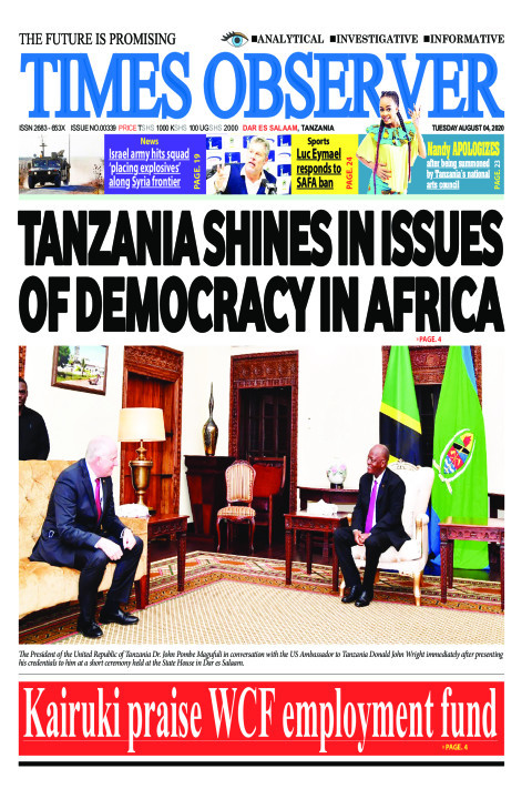TANZANIA SHINES IN ISSUES OF DEMOCRACY IN AFRICA | Times Observer