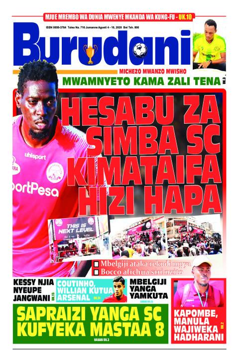 Hesabu za Simba SC kimataifa hizi hapa | Burudani