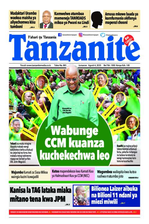 Wabunge CCM kuanza kuchekechwa leo | Tanzanite