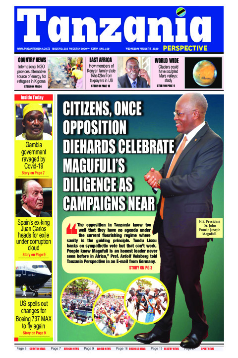 CITIZENS, ONCE OPPOSITION DIEHARDS CELEBRATE MAGUFULI'S DILI | Tanzania Perspective