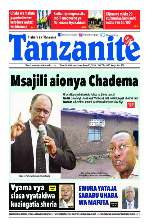 Msajili aionya Chadema | Tanzanite