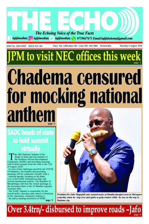 Chadema censured