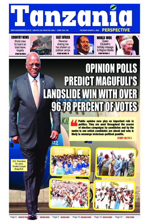OPINION POLLS PREDICT MAGUFULI'S LANDSLIDE WIN WITH OVER 96. | Tanzania Perspective