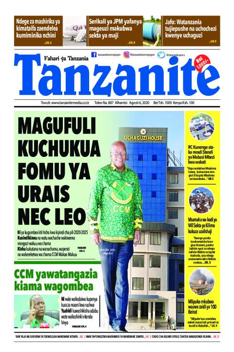 Magufuli kuchukua fomu ya Urais NEC leo | Tanzanite