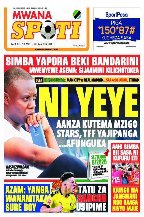 NI YEYE   | Mwanaspoti