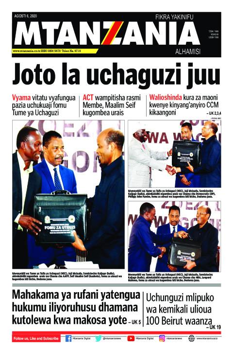 Joto la uchaguzi juu | Mtanzania