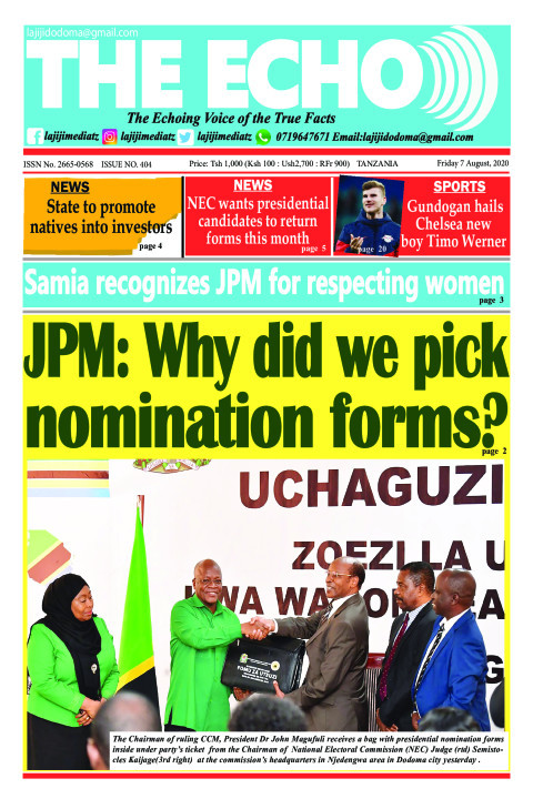 JPM: Why did we pick nomination forms? | The ECHO
