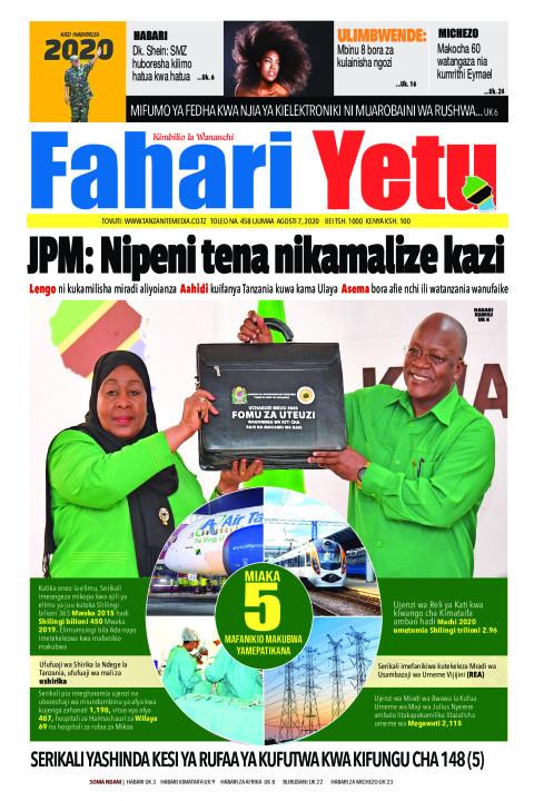 JPM: Nipeni tena nikamalize kazi | Fahari Yetu