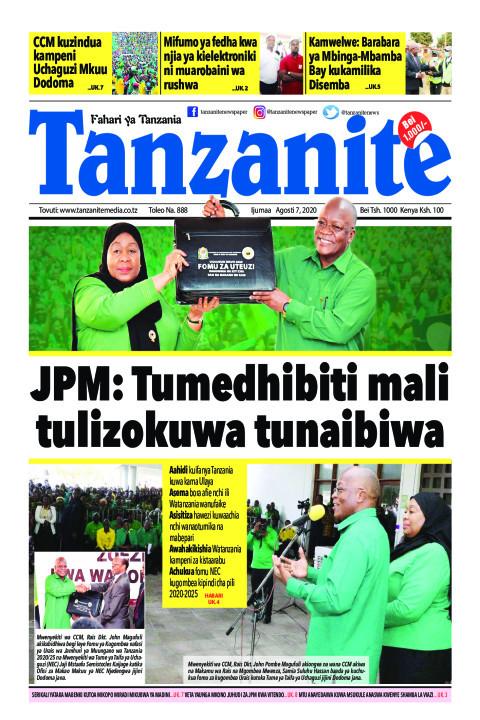 JPM: Tumedhibiti mali tulizokuwa tunaibiwa | Tanzanite