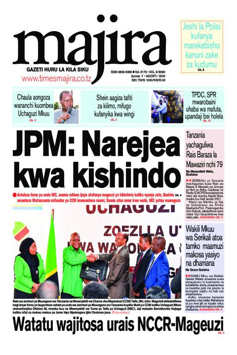 JPM: Narejea kwa kishindo | MAJIRA